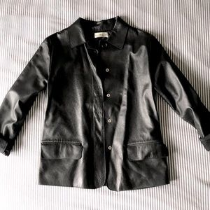 🇨🇦 Marisa Minicucci Leather Shirt/Jacket